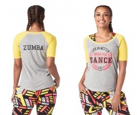 Zumba Life Is Better Baseball Tee