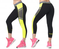 Zumba Let's Go Crop Leggings