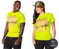 Zumba Free Instructor Graphic Tee
