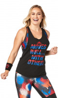 Moves Well With Others Tank Black
