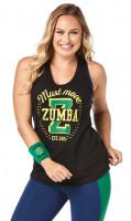 Zumba Must Move Tank Black